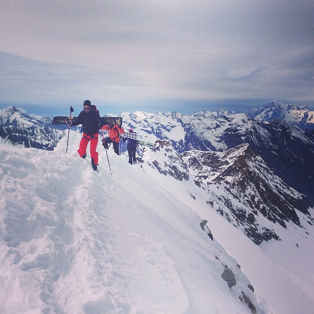 Skitour i Gran Paradiso, riktigt fint!