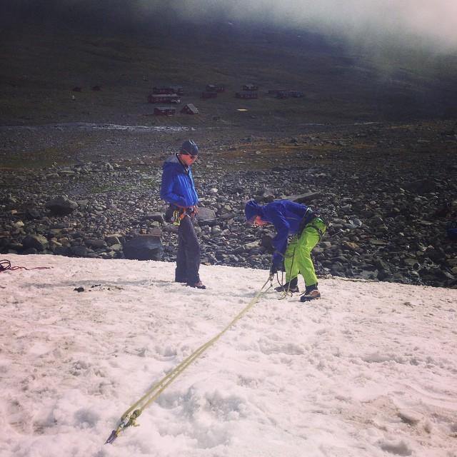 #Alpinklätterkurs #kebnekaise #tarfala #stf