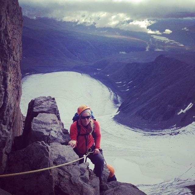 Glaciärkursen blev alpinklättring istället! #kebnekaise #klättring #glaciärkurs #glaciär