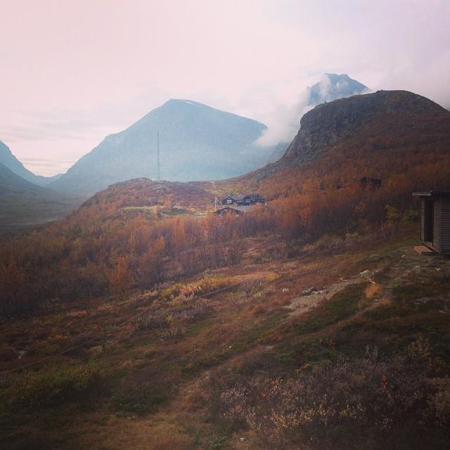Säsongen är slut nu bär det av söderut! #kebnekaise #tarfala #höst #klättring #stf