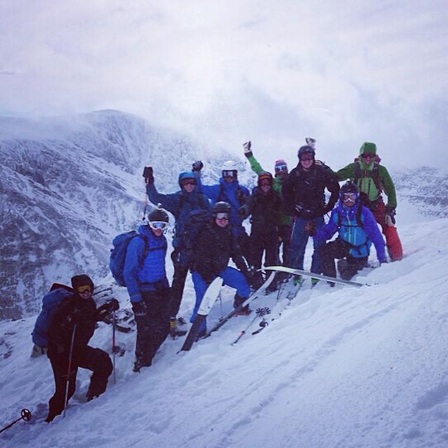 Topptur i alla väder idag blev det Toulpagorni!#toulpagorni #kebnekaise #bergsresor #elevenate #dynastar