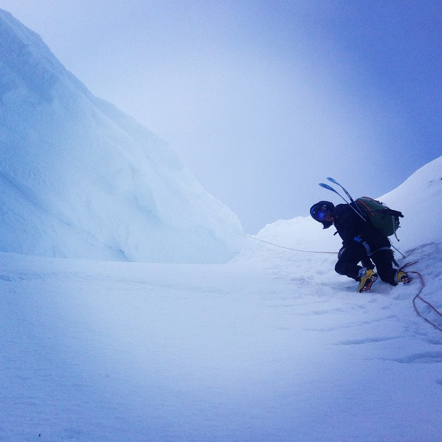 Brantåknings veckan startade på bästa sätt med Palins!#kebnekaise #skitour #steepski #bergsresor #elevenate #tarfala