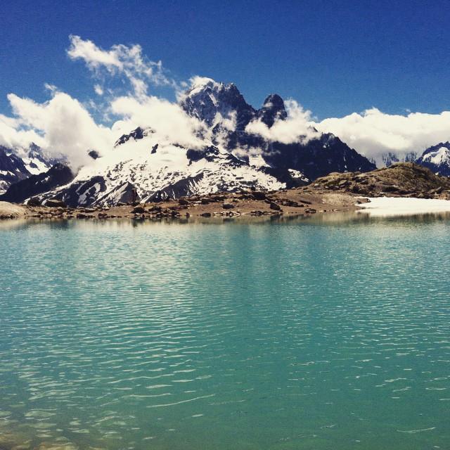 Första turen i Cham för säsongen!#chamonix #klättring #bergsresor #elevenate