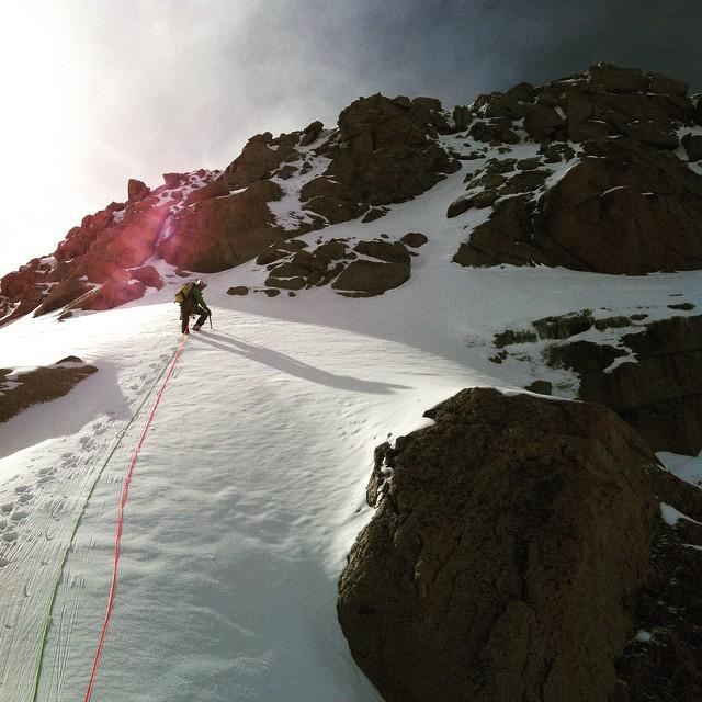 Ovan molen på Tacul!#chere #isklättring #bergsresor #chamonix #elevenate