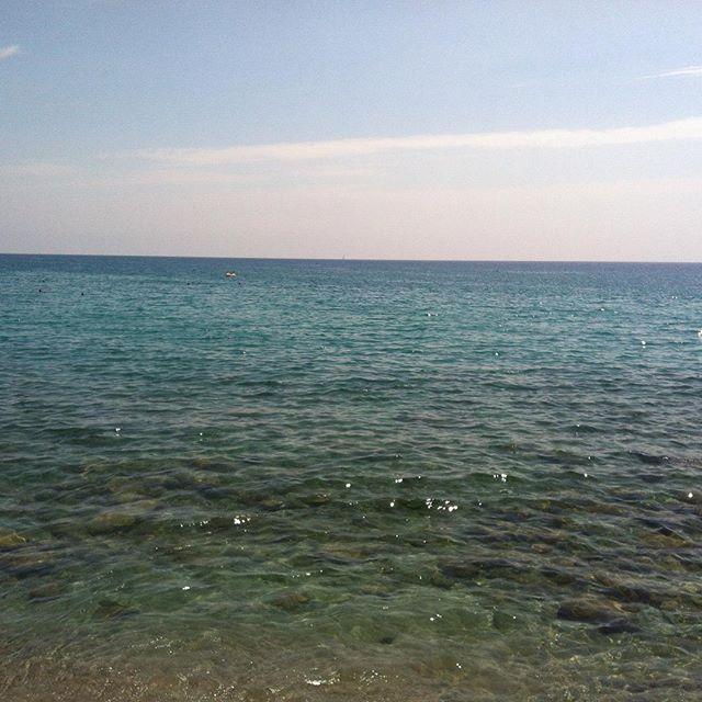 3 timmar i bil så var vi på en mini semester vid havet i Italien!