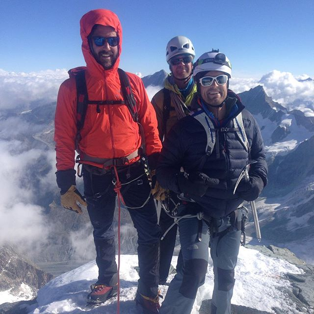 Fin dag på Dent Blanche! #klättring #dentblanche #bergsresor #elevenate #dynastar