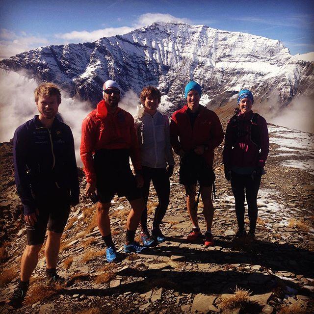 Fin tur med skönt gäng! #trailrunning #chamonix #bergsresor #dynastar #elevenate #montbuet