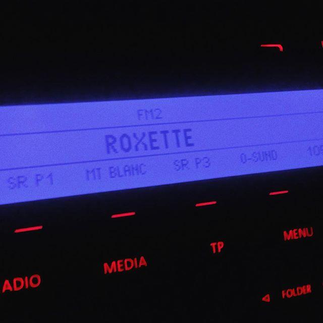 Otippat musikval på radion i Schweiz!#roxette