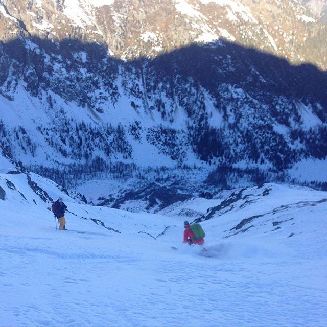 Skönt gäng på tur idag!#skitour #bergsresor #elevenate #dynastar
