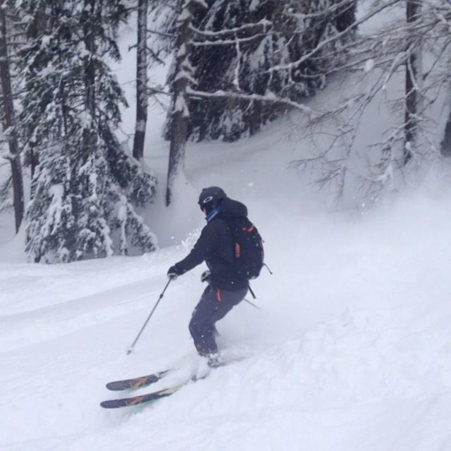 Fina förhållanden i och kring Chamonix, idag var vi Courmayeur!#bergsresor #elevenate #dynastar #courmayeur