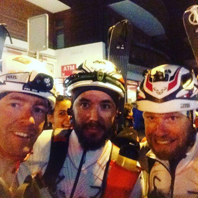 Peppat gäng för en skön natt till Verbier!!#pdg2016 #pdg #dynastar #bergsresor