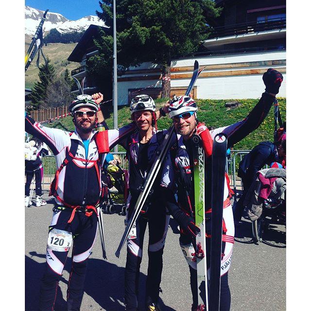 Nöjt gäng efter 12.5 timmar på tur!!#pdg2016 #pdg #dynastar #elevenate #bergsresor