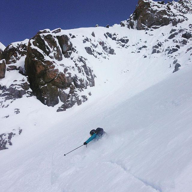 Grymma förhållanden på Glacier Rond! #glacierrond #chamonix #elevenate #dynastar