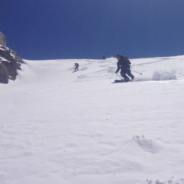 Puder och vårsnö, Haute Route levererar fortfarande fina förhållanden! #hauteroute #bergsresor #elevenate #dynastar