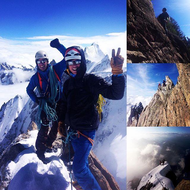 4 stycken nya aspirantguider har vi nu i SBO, grattis grabbar och tack för fina turer!#sbo #chamonix #bergsresor #elevenate