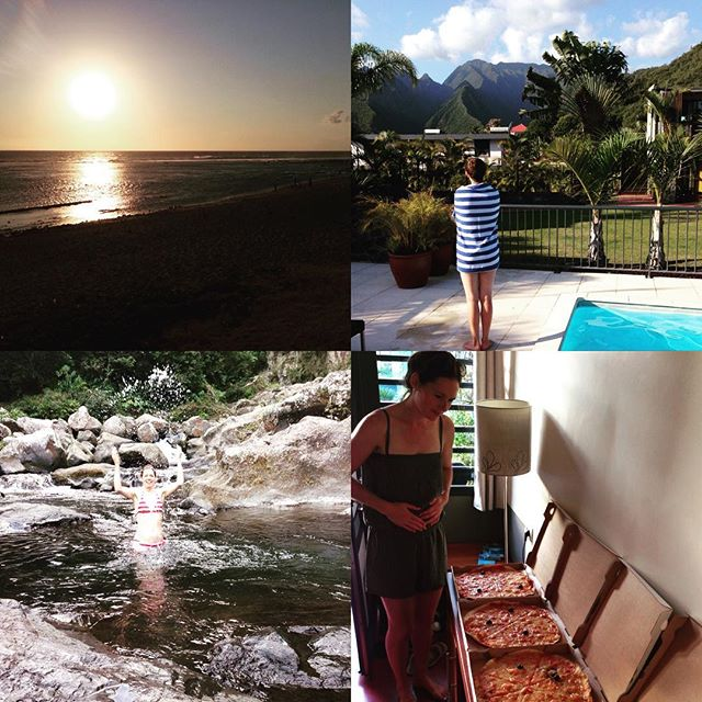 Fantastiska dagar här på Reunion med löpning, bad, vulkaner, vattenfall och massa bra mat, och vi har en vecka kvar!!