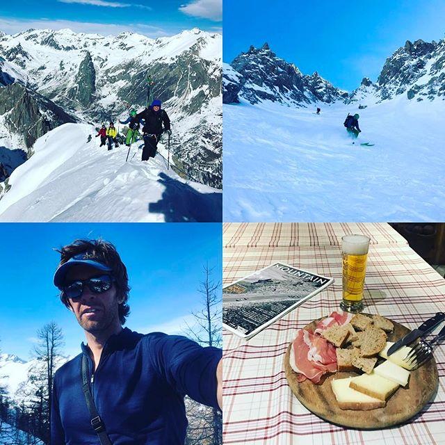 Premiär veckan i Val Maira har innehållit toppturer, branta åk, klätterpassager, puder, sol och mat, allt av bästa kvalitet så det blir garanterat fler besök!#valmaira #vallemaira #bergsresor #g3skis #dynafit #elevenate