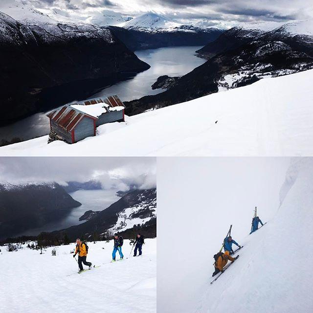 Topptursvecka med @skiersaccredited i sunnmøre! #sunnmøre #stranda #elevenate #g3gear #bergsresor #skiersaccredited