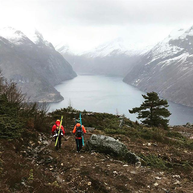 Inget skidföre att prata om men fina turer och boende av bästa sort!#juvetlandscapehotel #unionøye #skiersaccredited #bergsresor #dynafit #elevenate