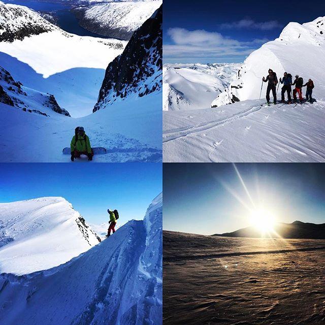 Vindstilla, sol, fina toppar, massa höjdmeter sammanfattar veckan i hunddalen och Lossihyttan!#narvik #bergsresor #elevenate #g3gear #dynafitsweden