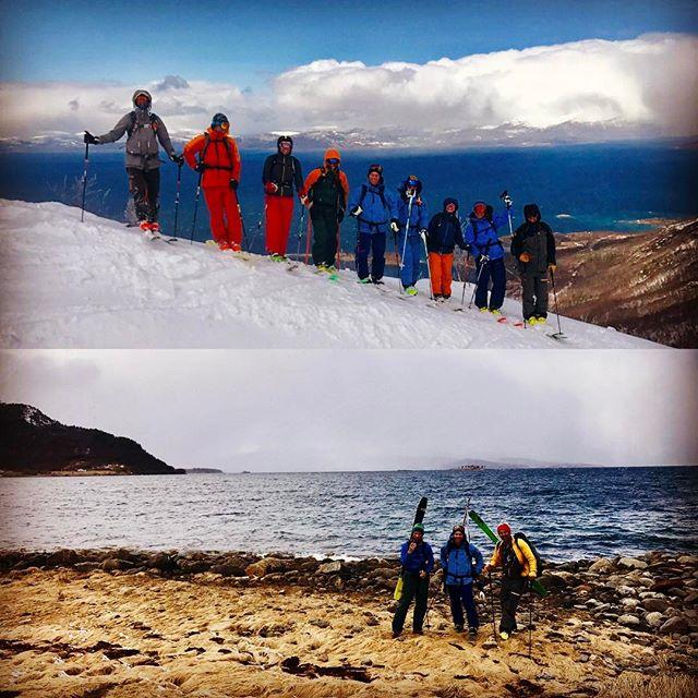 Topptur är svårslaget i norr, vinter på topparna och vår i dalarna!!#skiersaccredited #narvik #bergsresor #dynafitsweden #g3gear #elevenate