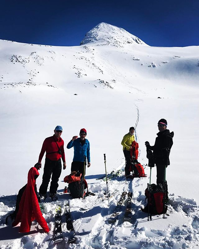 Narviks fjällen fortsätter leverera!#losihytta #narvik #bergsresor #elevenate #g3gear #dynafitsweden