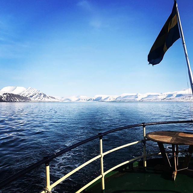 Efter en sväng norröver med topptur och isbjörnar drar vi söderut och siktar mot sol och valrossar! #svalbard #bergsresor #skitouring #arcticguides