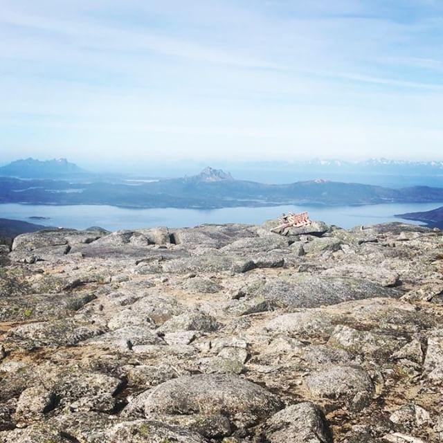 Dag två av fyra, samma väder som igår!#stetind #narvik #bergsresor #narvikmountainguides #elevenate #dynafitsweden
