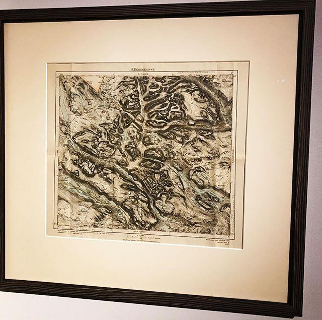 Kebnekaisekarta från 1889, tack för den @klas_tollstadius och @anitatollstadius #kebnekaise #bergsresor #topptur #elevenate #dynafitsweden