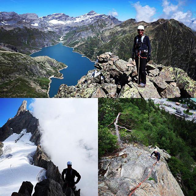 4 dagars klättrande mynnade inte ut med en planerad bestigning av Eiger, men fina turer runtom i Chamonix gjorde vi!#chamonix #bergsresor #elevenate #dynafitsweden