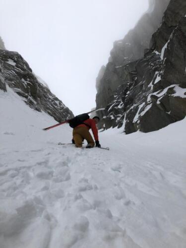 Brantåkning på G söder om Narvik